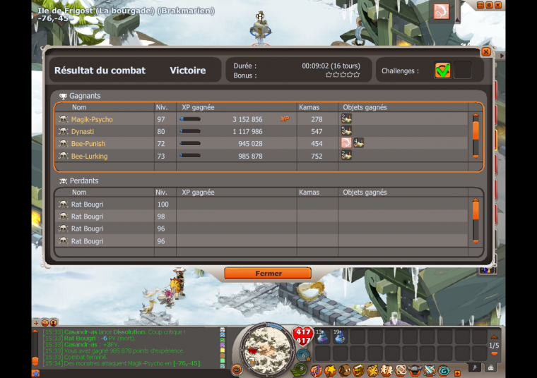 Records d'XP !