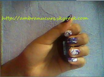 Nail Art Water Marble 2