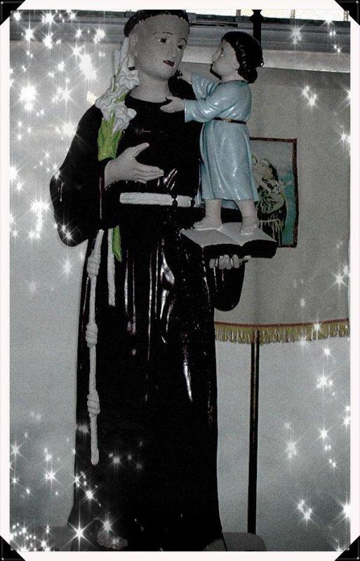 saint Antoine de Padoue saint patron de notre chapelle de Reims