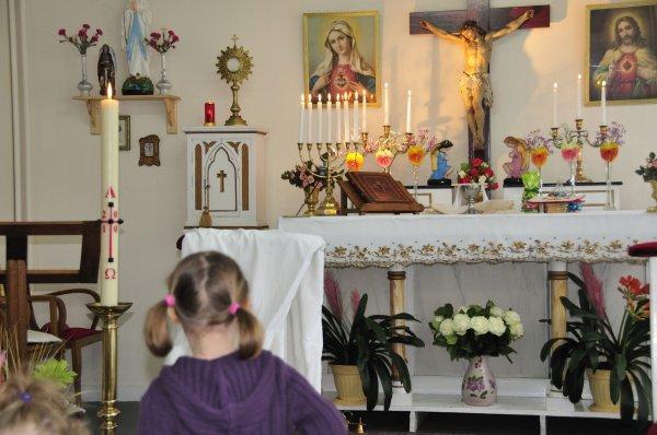 les enfants aiment la religion