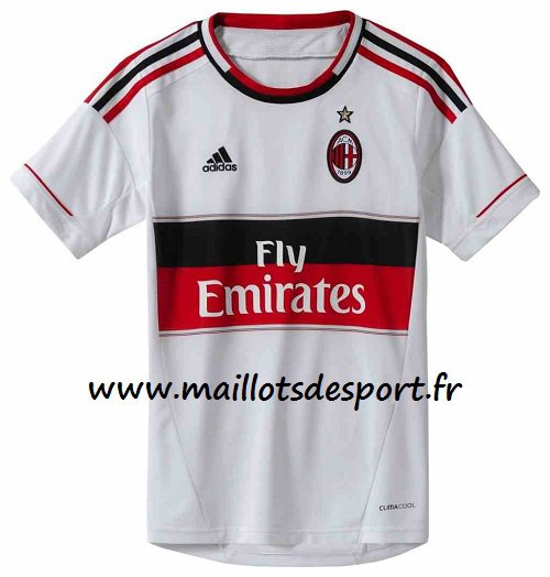 maillot 2012 2013 exterieur du Milan