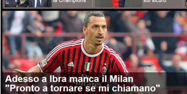 """""""Je pourrais imaginer retourner au Milan AC si je devais choisir aujourd'hui"""""""