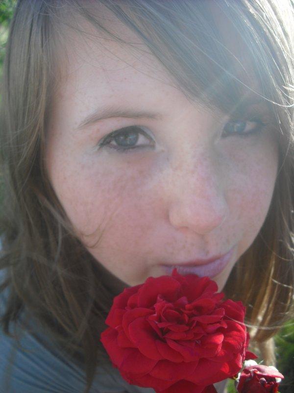 Une rose est telement belle ... <3