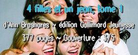 4 filles et un jean, tome 1 d'Ann Brashares