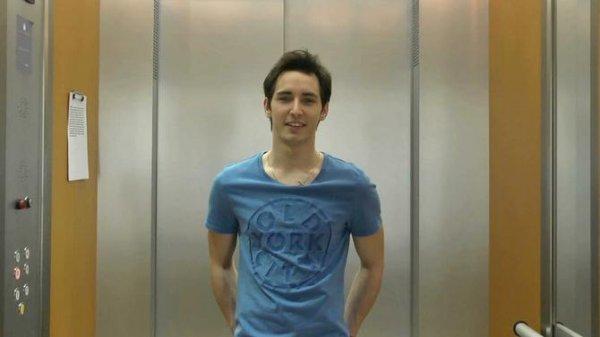 L'ascenseur avec Geoffrey Piet