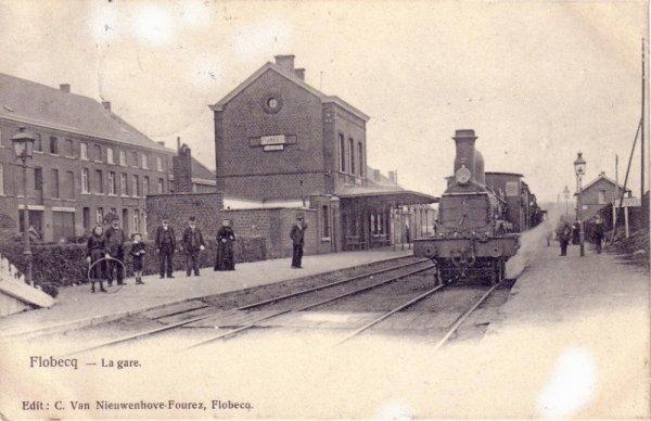 FLOBECQ - La gare