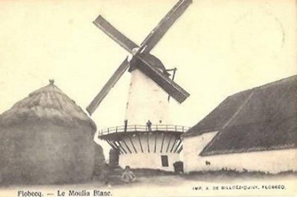 FLOBECQ - Le moulin blanc