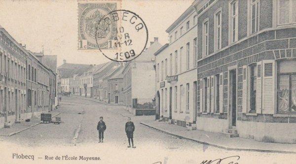 FLOBECQ la houppe en 1909