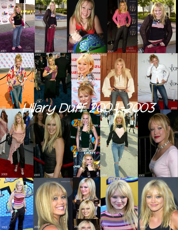 2: L'évolution de Hilary Duff!