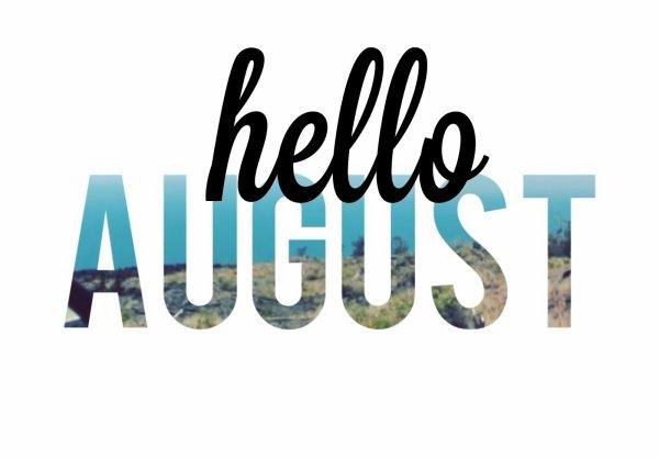 1-Mes chouchous du mois d'Août 2014!