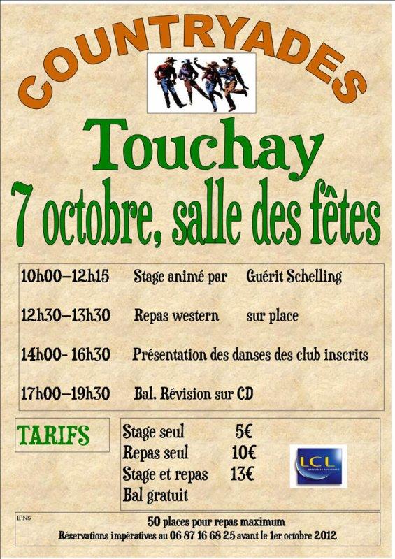 Stage danse avec Guerit TOUCHAY (18 Cher)