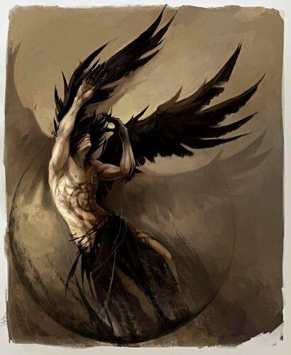Un ange perdant c'est plume