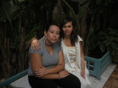 My cousin & me