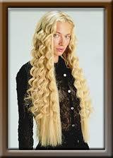 Cheveux aux extensions.