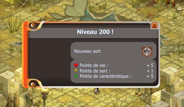 3ème Up 200 !