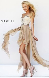 Cheap High-Neck Floral Lace Short Prom Dresses