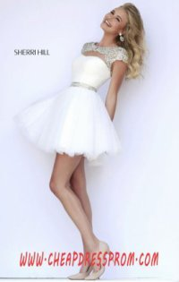 2015 Sherri Hill Short Dresses
