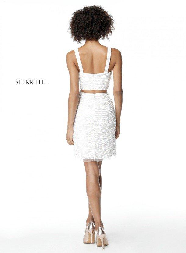 2018 Sherri Hill 51279 Ivory Prom Dresses