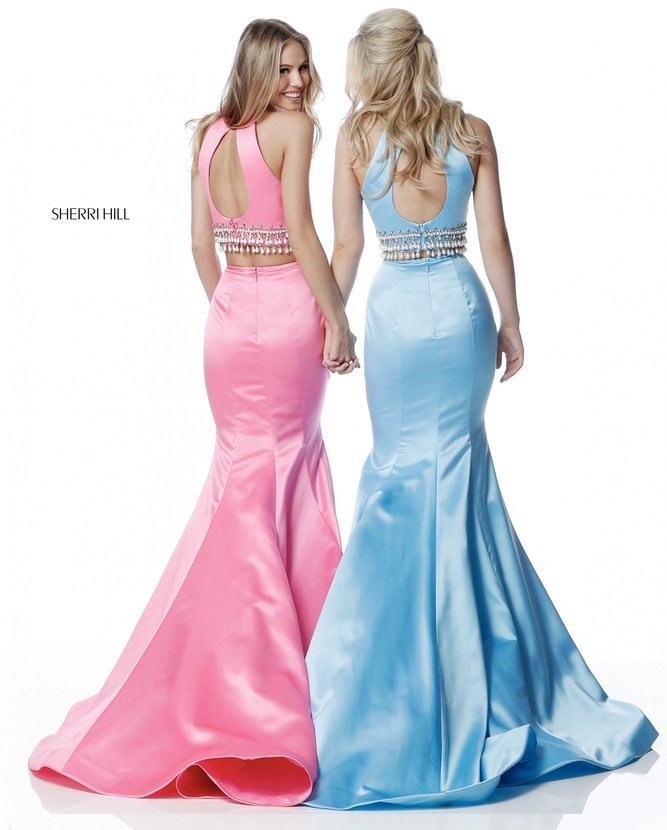 2018 Sherri Hill 51581 Long Mermaid Gowns