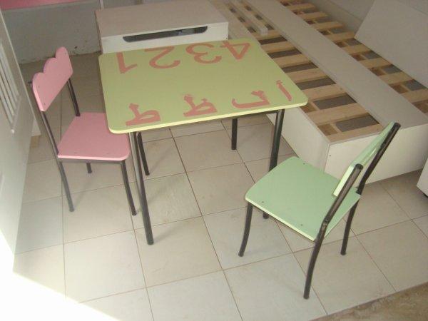 Table Chaise Jardin Denfants