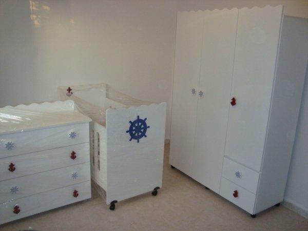 Chambre b b marin 39 le monde de la miniature - Chambre enfant marin ...