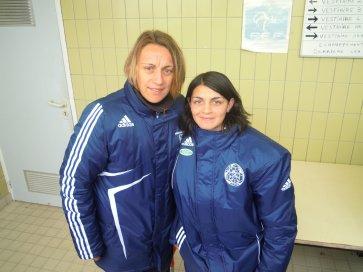 zocail & la capitaine de l'equipe de france feminine