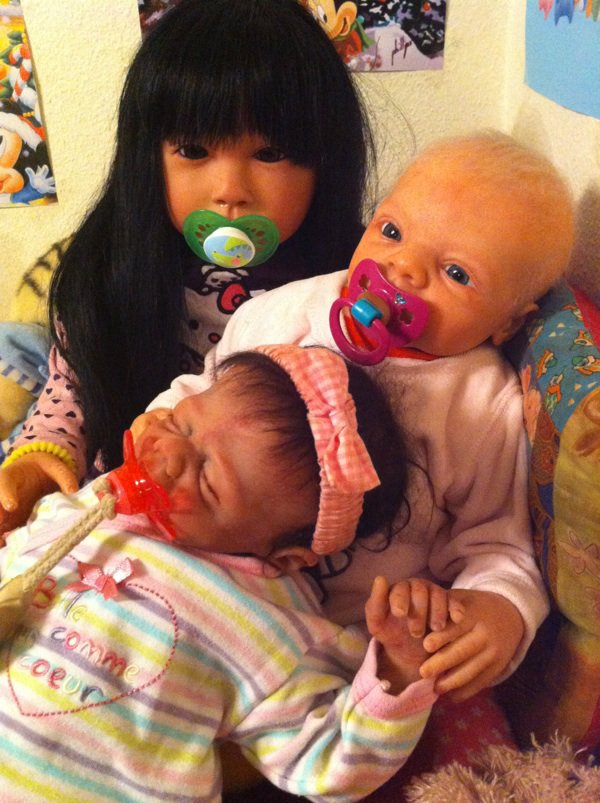 Angela, Ilenia, Noëliah