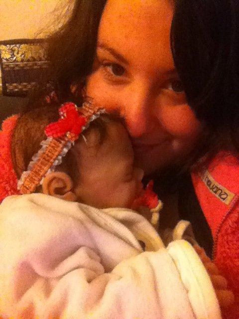 Ma fille et moi ce soir