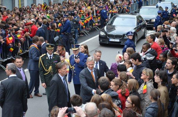 ARLON 18 septembre 2013 ; Joyeuse entrée de Philippe I  et de Mathilde