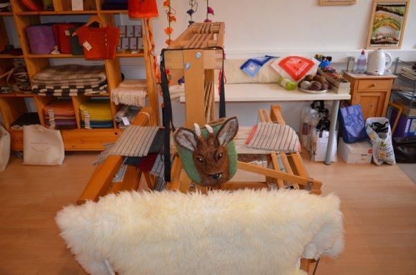 Le monde de la laine feutrée à Cernier