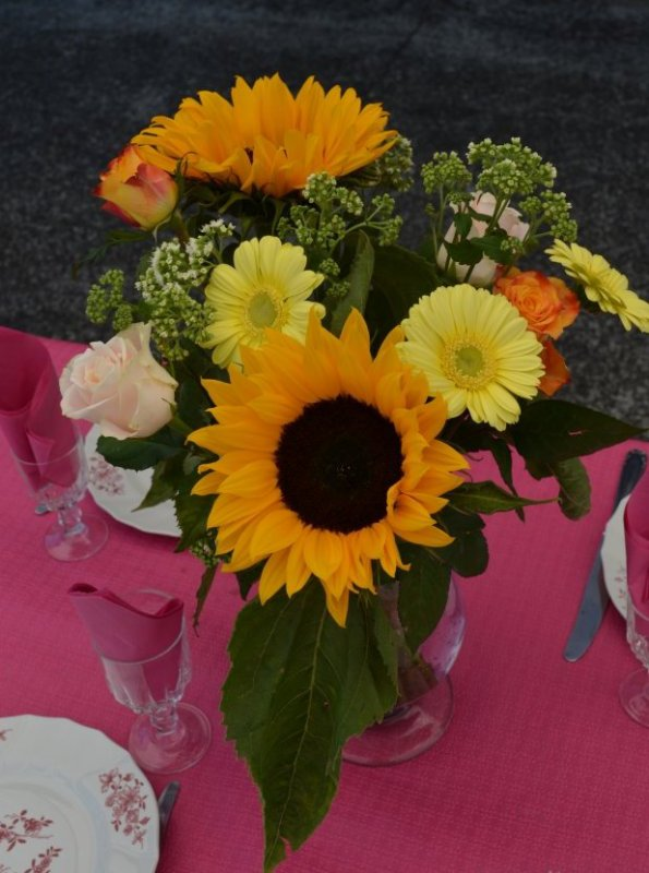 Bouquets de table