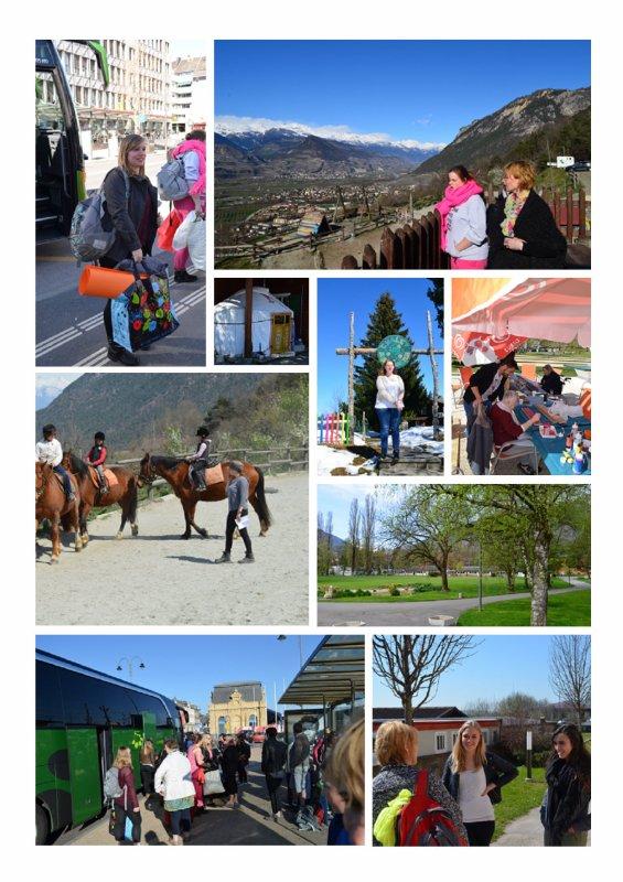 Souvenir des stages en Suisse Pâques 2015