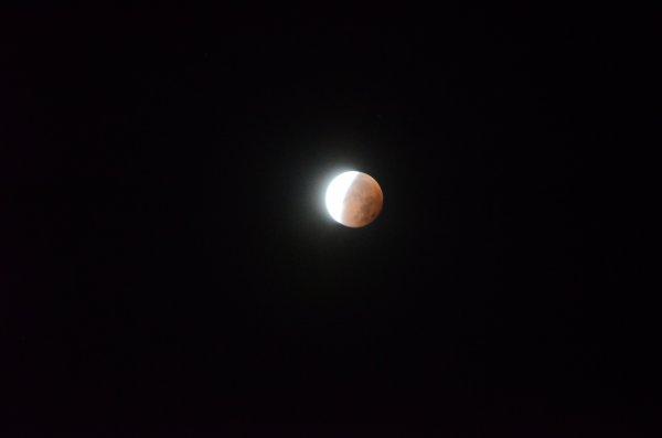 lune rose du 28+09+2015