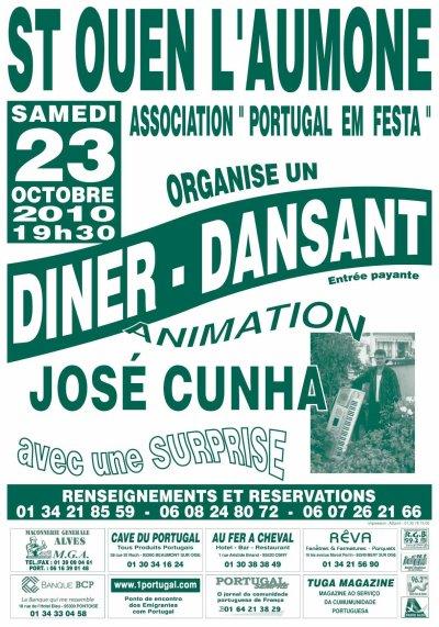SOIREE DANSANTE 23 OCTOBRE 2010