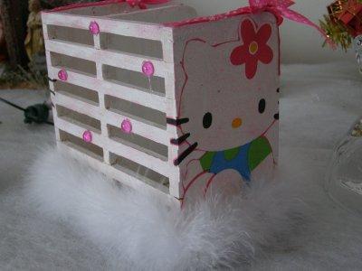 Pot à crayons Hello kitty