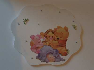 Plaque de porte Winnie