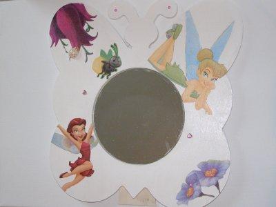 Miroir papillon Fée Clochette
