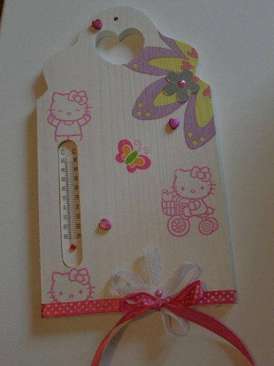 Thermomètre Hello Kitty