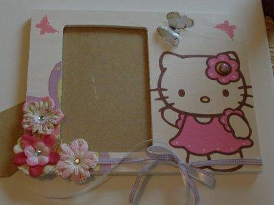 Cadre photo Hello Kitty