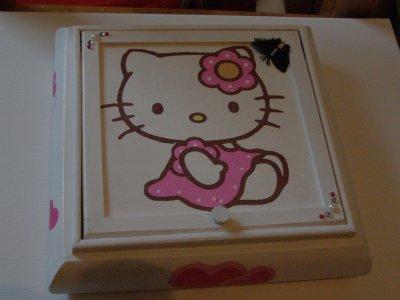 Boîte à bijoux Hello Kitty