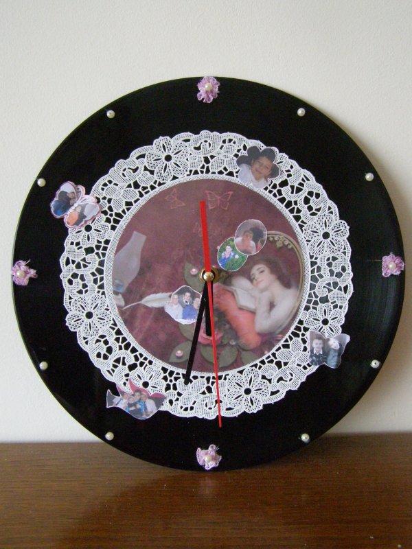 Une horloge vintage