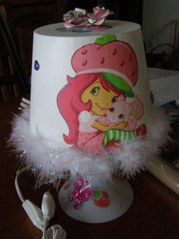lampe Charlotte aux fraises