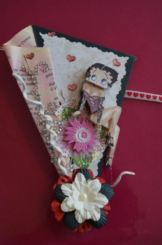 Marque page Betty boop