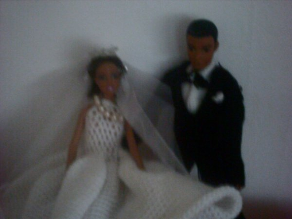 POUPEE MARIAGE