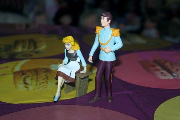 Cendrillon et son prince charmant (figurines Disney Bullyland)