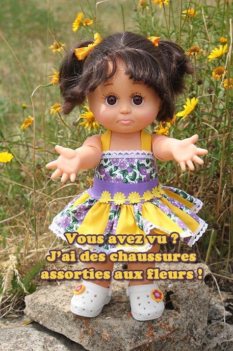 Une fleur parmi les fleurs ...