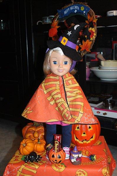 Les poupées aiment Halloween !!!
