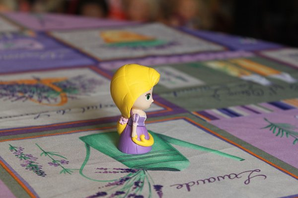Mes figurines Princesses Disney Tomy : Raiponce
