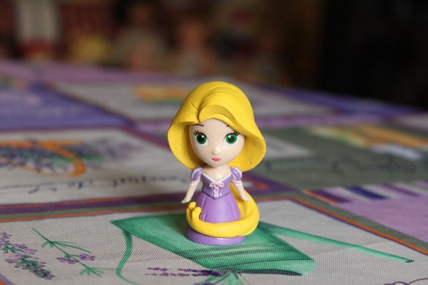 Mes figurines Princesses Disney Tomy : Raiponce