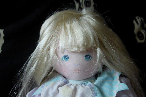 Ma jolie poupée Mundia en chiffon